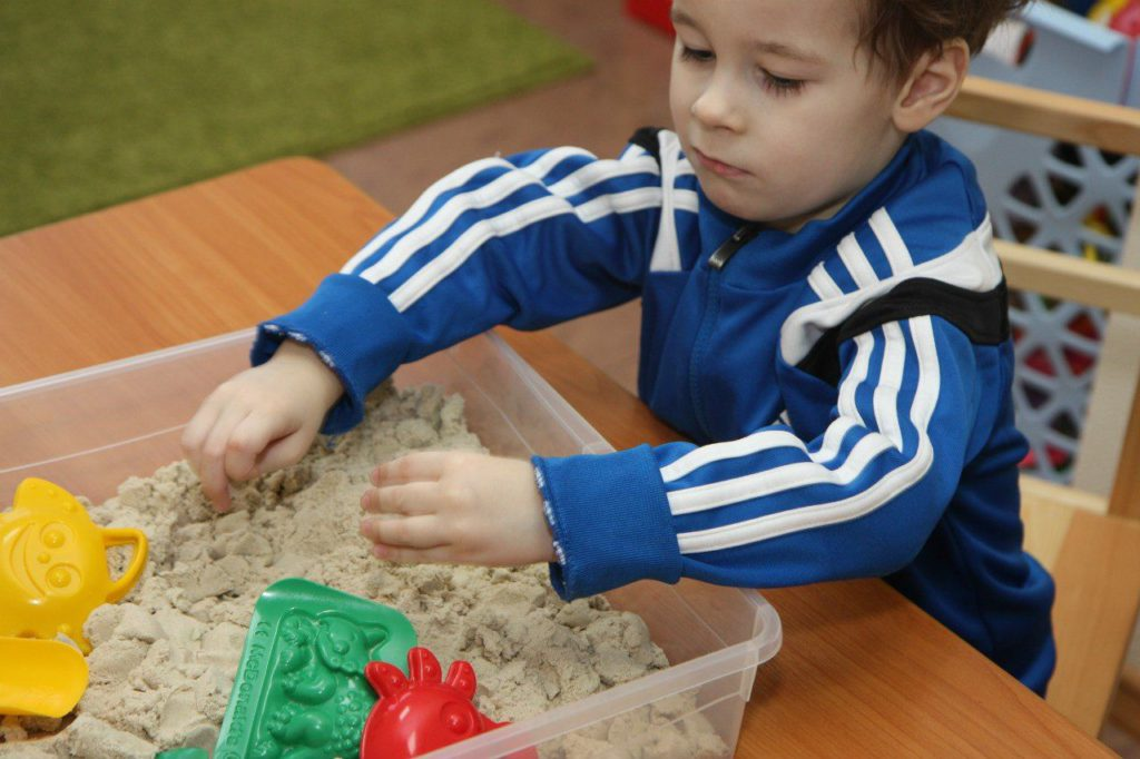 Песочная терапия для детдекоративные